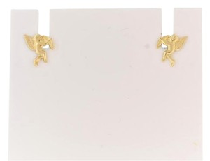 Other Cupid Angel Stud Earrings in 14k Yellow Gold - Valentine's Day Gifts