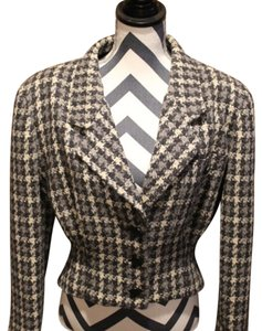 Dior Black and White Blazer