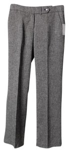Calvin Klein Brand New Never Worn Classic Fit Straight Pants Gray Pinstripe