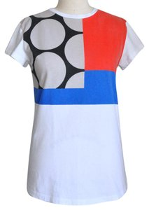 être cécile T Shirt White, Blue, Red, Black, Cream