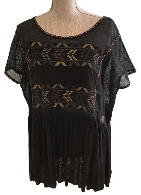 Preload https://img-static.tradesy.com/item/20644249/free-people-black-multi-colored-embroidery-sheer-sleeves-small-tunic-size-6-s-0-2-650-650.jpg