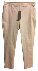 Eileen Fisher Stretch Crepe Slim Bistretch Twill Skinny Pants BONE