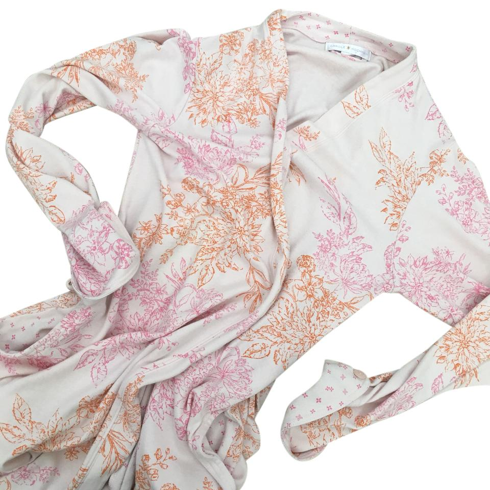 Carole Hochman Floral Robe. Japanese Style Robe Small. Missing Tie ...
