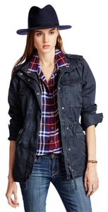 Lucky Brand Long Sleeve Solid Military Jacket