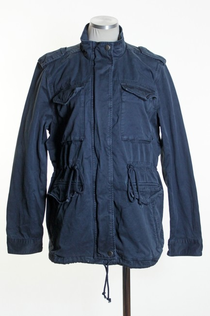 Lucky Brand Long Sleeve Solid Military Jacket Image 1