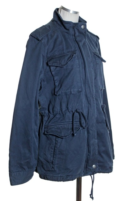 Lucky Brand Long Sleeve Solid Military Jacket Image 2