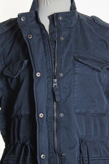 Lucky Brand Long Sleeve Solid Military Jacket Image 4