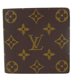 Louis Vuitton Marco Bifold Wallet Purse Monogram Leather BN M61675 Men Pouch