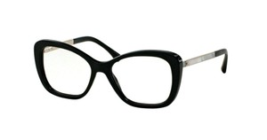 Chanel NEW Butterfly Pearl Eyeglasses CH 3328H c. 501 in Black 53mm
