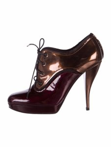 Lanvin Ankle Burgundy Boots
