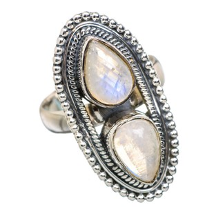 Other Rainbow Moonstone 925 Sterling Silver Ring Size 6