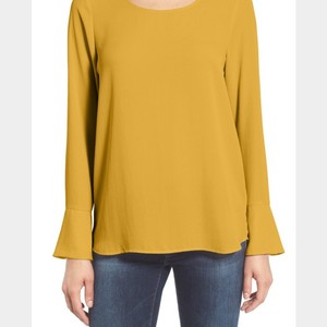 Pleione Bell Cuff Top Custard