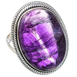 Other Fluorite 925 Sterling Silver Ring Size 8