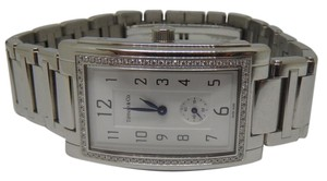 Tiffany & Co. Grand Diamond Bezel men's stainless steel watch