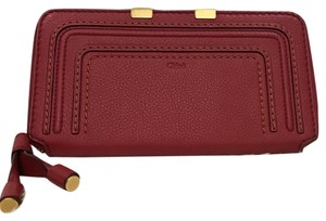 Chloé NWT Marcie long zip continental wallet