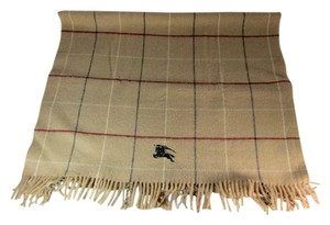 Burberry Beige, 100% Wool, Large Scarf/Shoulder Wrap 45
