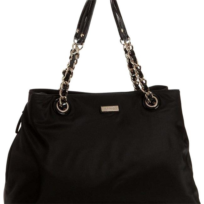 Kate Spade Maryanne Black Nylon and Patented Leather Diaper Bag Kate Spade Maryanne Black Nylon and Patented Leather Diaper Bag Image 1