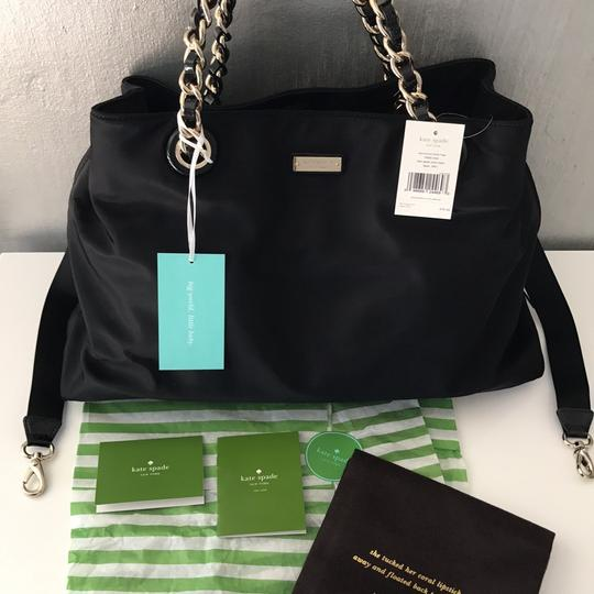 Kate Spade New With Ships Next Day Elegant Handy Chic Moms Black Diaper Bag Image 5