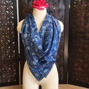 Pineda Covalin Pineda Covalin Blue Butterfly Square Scarf 34