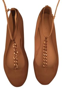 J.Crew Womens Brown Ankle Tan Flats