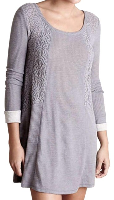 Preload https://img-static.tradesy.com/item/20644884/anthropologie-grey-thermal-sleep-chemise-short-casual-dress-size-4-s-0-7-650-650.jpg