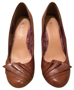 CL by Laundry Cognac Wedges