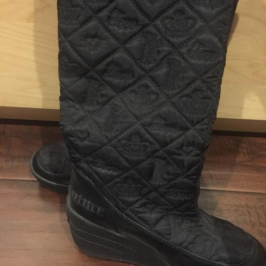 Juicy Couture Black with gold hardware Boots Image 1