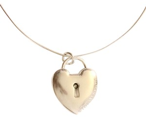 Tiffany & Co. Choker Style Necklace with Heart