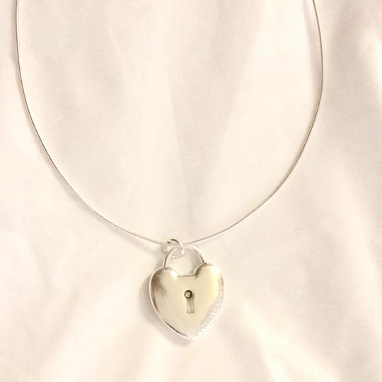 Tiffany & Co. Choker Style Necklace with Heart Image 1