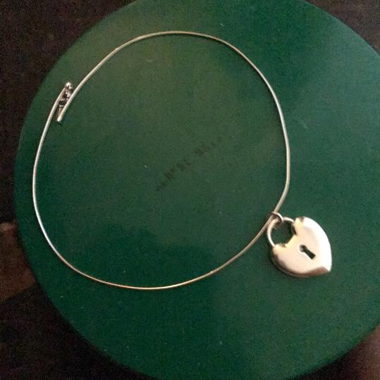 Tiffany & Co. Choker Style Necklace with Heart Image 4