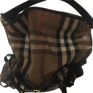 Burberry Tote in black Burberry check
