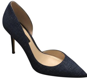 White House | Black Market blue chambray Pumps