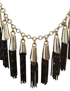 White House | Black Market WHBM TASSEL CHAIN NECKLACE