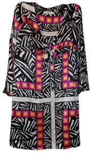Alice & Trixie short dress Multi-Colored Boho Bold Animal Print Bohemian Silk on Tradesy