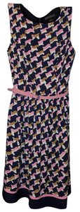 Jessica Howard short dress Multi-Colored Bold Stripe Bohemian Belted Soft Stretchy on Tradesy
