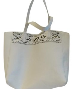 Merona Tote in white