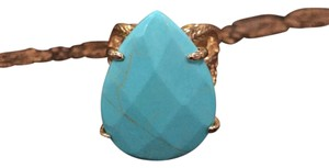Kendra Scott turquoise pear ring
