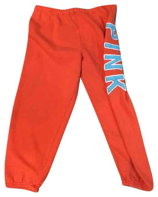 Item - Orange Pink Cropped Sweats Activewear Bottoms Size 8 (M)