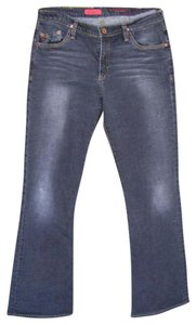 AG Adriano Goldschmied The Angel Made In Usa Boot Cut Jeans-Medium Wash