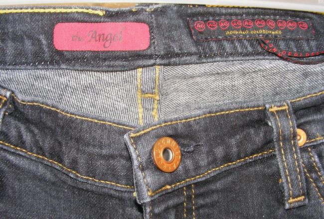 AG Adriano Goldschmied The Angel Made In Usa Boot Cut Jeans-Medium Wash Image 6