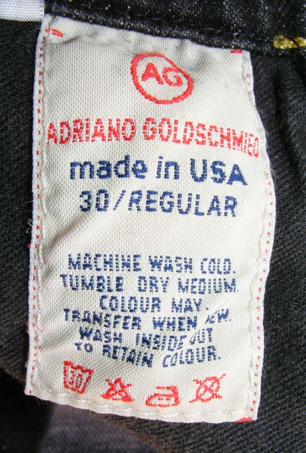 AG Adriano Goldschmied The Angel Made In Usa Boot Cut Jeans-Medium Wash Image 8