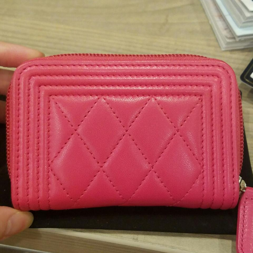 42b9881db11a Chanel Chanel Hot pink O-coin purse with gold hardware Image 2. 123