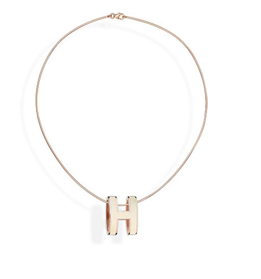 Herms white palladium lacquered pop h pendant necklace tradesy herms palladium lacquered pop h pendant necklace aloadofball Gallery