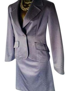 Max Mara Max Mara Pale Lilac Pencil skirt fitted blazer suit was 1440.00