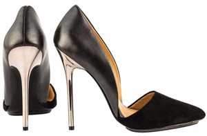 L.A.M.B. gunmetal grey black Pumps