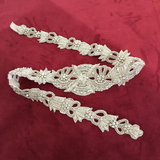 BHLDN Ajoure Fitted Belt- never worn Image 2