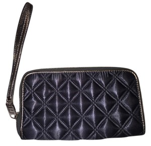 Marc by Marc Jacobs Quilted Satin Exclusive Gunmetal Clutch