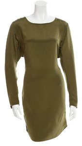 3.1 Phillip Lim short dress Green Silk Longsleeve on Tradesy