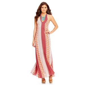 multi Maxi Dress by Sugarlips