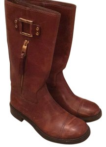 Tory Burch reddish brown Boots